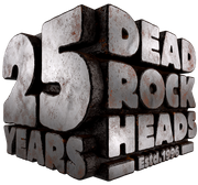 25 Years Dead Rock Heads - Est. 1996 by Ole Ohlendorff, Ohlendorff-Art, Rock Legends Alive, combiful, Artwork, Exhibition